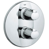 Two Handle Thermostatic Valve Control