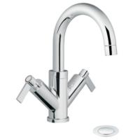 Two Handle Single Hole Bathroom Faucets