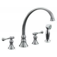 Two Handle Widespread Kitchen Faucets