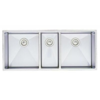 Undermount Triple Bowl Kitchen Sinks